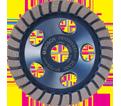 "Diamond Cup Wheel - 5"" - Fine / DC530 *TURBO ROW"