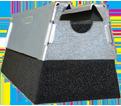 "Foam-Based Support - 4"" - Steel / RPS50H4EG *ELECTROGALVANIZED"