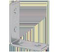 Corner Bracket - 90° - Steel / B104ZN *Electrogalvanized