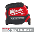 25Ft Compact Magnetic Tape Measure / 48-22-0325