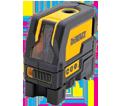 Laser Level - Cross Line & Plumb Spots - Red - AA Battery / DW0822