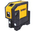 Laser Level - Red - Horizontal Lines & Plumb Spots - AA Battery / DW0851