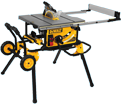 """Table Saw w/ Stand (Kit) - 10"""" dia. - 15.0 amps / DWE7491RS"""