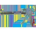 Super Ratchet Rod Caulking Gun - 850 mL / 315